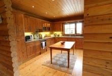 dining kitchen of Horncastle luxury holiday cottage