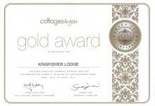 Kingfisher Lodge Gold Award