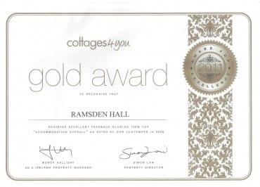 Ramsden Hall Gold Award