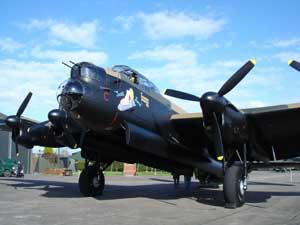 Just Jane - Lancaster Bomber
